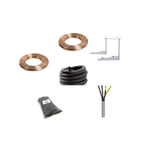 Panasonic Air Conditioning CS-RE24RKEW Wall Mounted Standard Heat Pump Inverter R32 A+ Install Pack